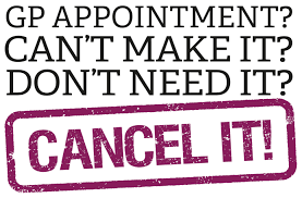 Cancel unneeded appointments picture
